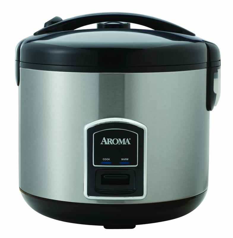 AROMA 20-cup (Cooked) Rice Cooker and Food Steamer (ARC-900SB)