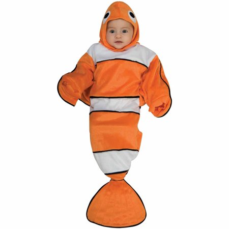 Guppy Bunting Infant Halloween Costume, Size 0-6 Months - 7 Month Old Baby Halloween Costumes