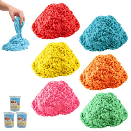 3 Play Magic Sand 1.3 lb Kid Child DIY Indoor Play Craft Non Toxic Toy Colors