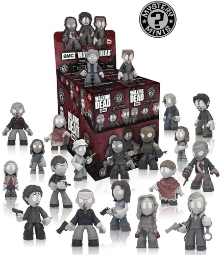 FUNKO MYSTERY MINI: WALKING DEAD S8 - IN MEMORIAM (ONE FIGURE PER PURC