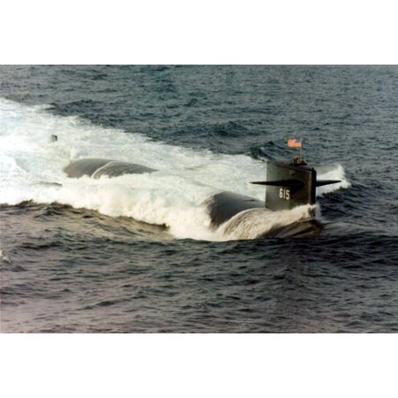 LAMINATED POSTER en:USS Gato (SSN-615) official Navy photo. en:Category: Permit class submarines Poster Print 24 x 36