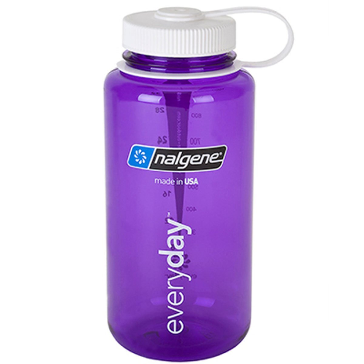Nalgene 32oz Tritan Wide Mouth Bottle Purple, 32 oz N