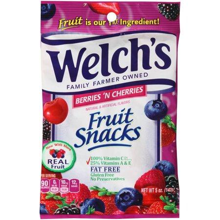 Welch's. Berries 'N Cherries Fruit Snacks 5 oz. (12 Count)