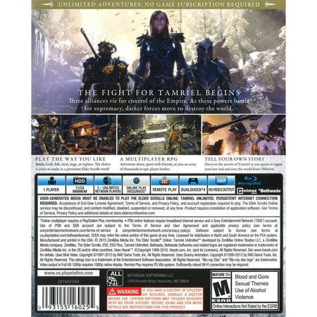 Bethesda Elder Scrolls Online: Tamriel Unlimited Video Game