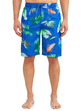 688de4455a Product Image Kanu Surf Men's Cozumel Print Long Trunk Swimsuit