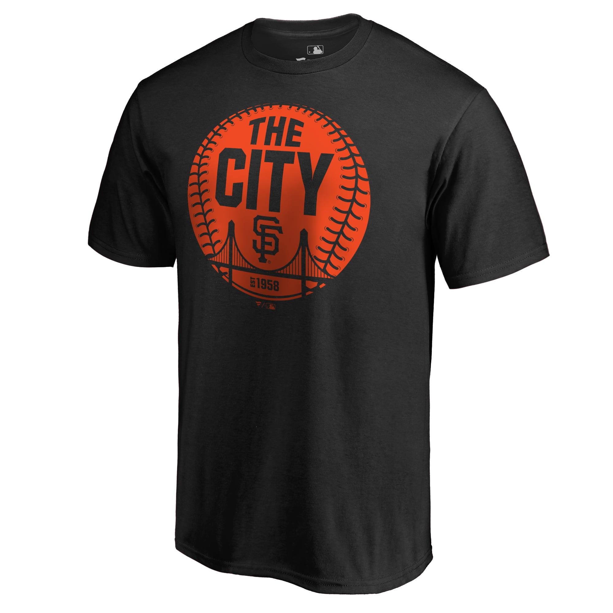 San Francisco Giants Cityball Hometown T-Shirt - Black