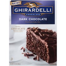 Ghirardelli Dark Chocolate Cake Mix