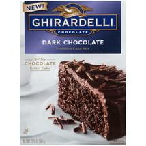 Baking Mixes: Ghirardelli Dark Chocolate Cake Mix