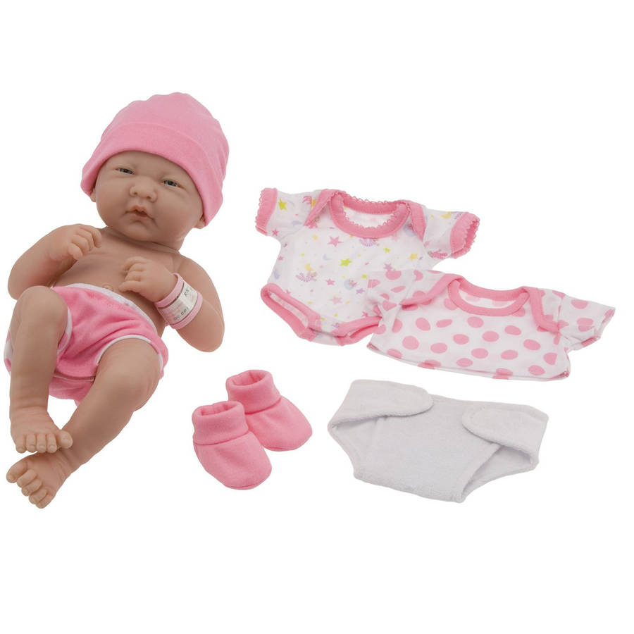 "JC Toys La Newborn 14"" Layette Gift Set"