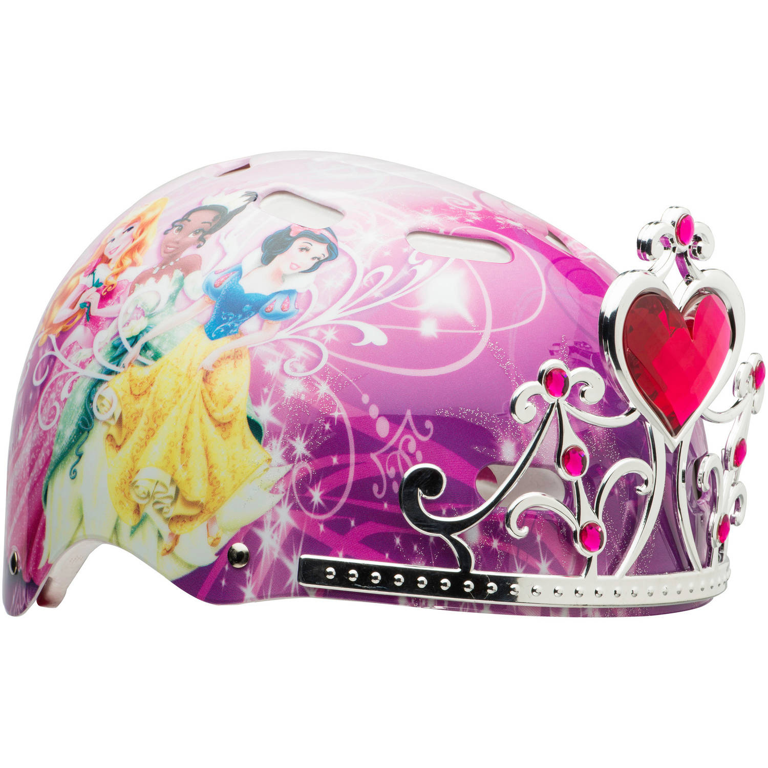 Bell Sports Disney Princess Child 3D Helmet, Pink