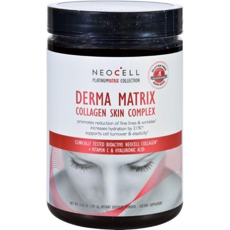 Dermal Vitamin - Neocell Laboratories Collagen Skin Complex - Derma Matrix - Platinum Matrix - Instantly Dissolving - 90 Capsules