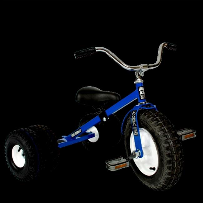 Dirt King DK-251-DTB Child Dually Tricycle, Blue
