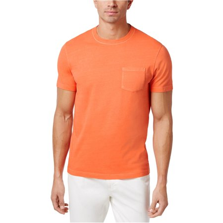 Club Room NEW Orange Mens Size Small S Crewneck Short-Sleeve Tee T-Shirt 107