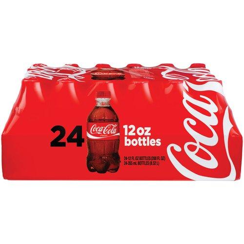 Coca-Cola Cola, 12 fl oz, 24 pack