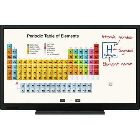 "Sharp Aquos Board Pn-c603d Digital Signage Display 60.1"" Lcd 1920 X 1080 Edge Led 300 Nit 1080p Hdmi Usb... by"