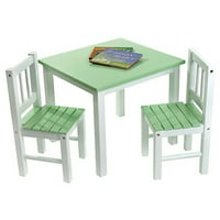 Lipper Child's Table & Chairs 3-Piece Set, Multiple Colors