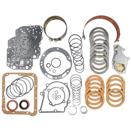 JEGS Performance Products 62108 Transmission Rebuild Kit 1970-1981 Ford C4 Inclu