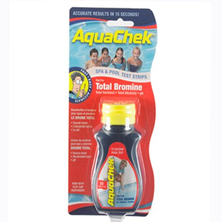 Aquachek Red Bromine Test Strips for Pools and Spas, 50 Strips ()