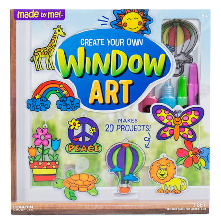 Art Craft Ideas (Made By Me Create Your Own Window)