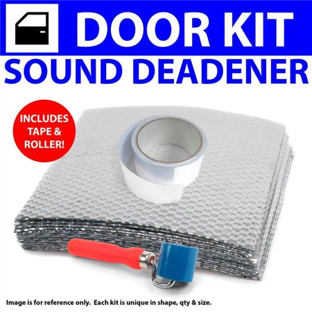 Heat & Sound Deadener for 2005-2013 Chevy Corvette 2 Door Kit with Tape & Roller