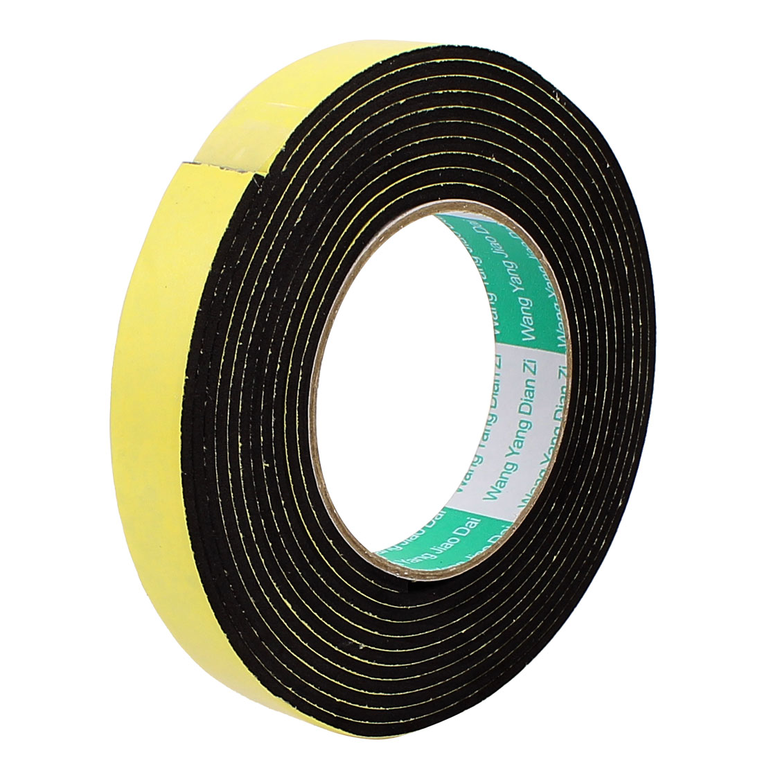 2CM Width 4M Length 3MM Thick Single Sided Sealing Shock Resistant Sponge Tape
