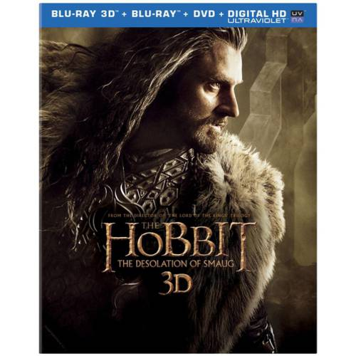 The Hobbit: The Desolation Of Smaug (3D Blu-ray + Blu-ray + DVD + Digital HD) (With INSTAWATCH) (Widescreen)