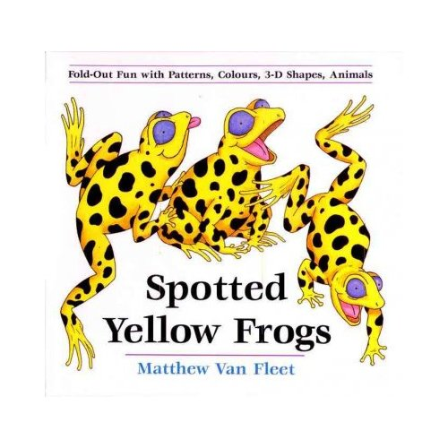 Spotted Yellow Frogs: Fold-Out Fun With Patterns, Colors, 3-D Shapes, and Animals