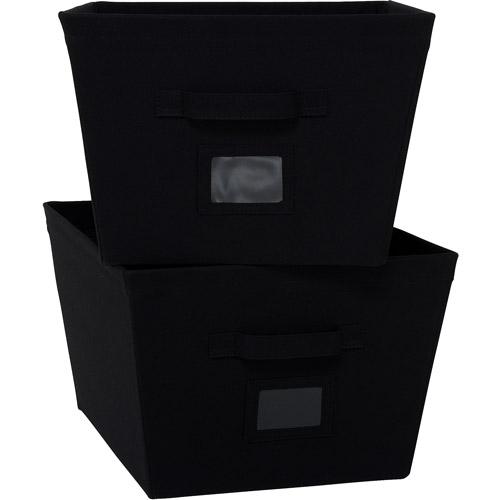 Mainstays 2-Pack Large Bins