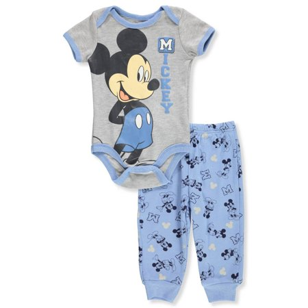 Disney Mickey Mouse Baby Boys' 2-Piece Pants Set Outfit](Baby Mouse Outfit)