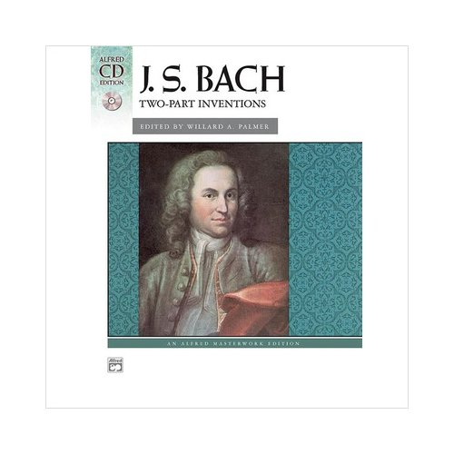 J.S Bach - Two-Part Inventions - Piano Book With Cd