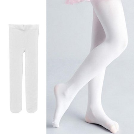 cbacccf9b604c Children's Girls Ballet Dance Tights Footed Seamless Solid Stockings Caroj  - image 1 ...