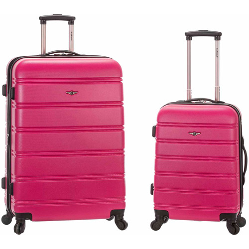 Rockland Luggage Melbourne Expandable ABS Spinner Set