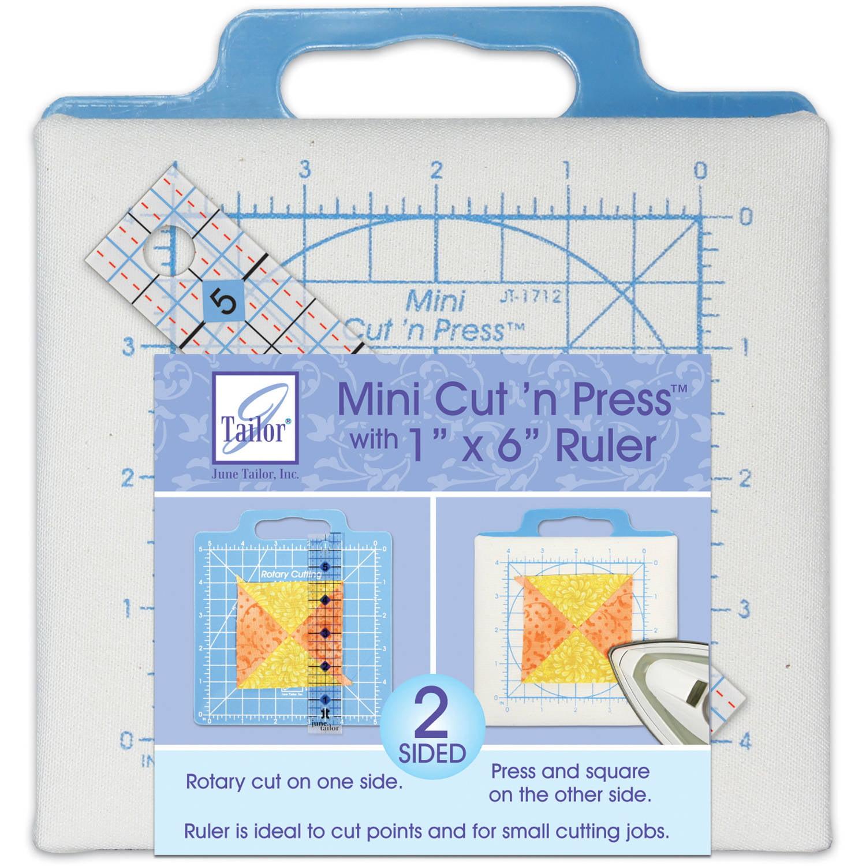 "June Tailor Mini Cut 'N Press with 1"" x 6"" Ruler"