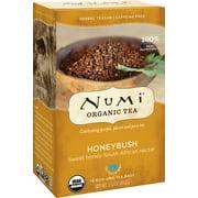 Numi Organic Tea, Honeybush, Tea Bags, 18 Ct