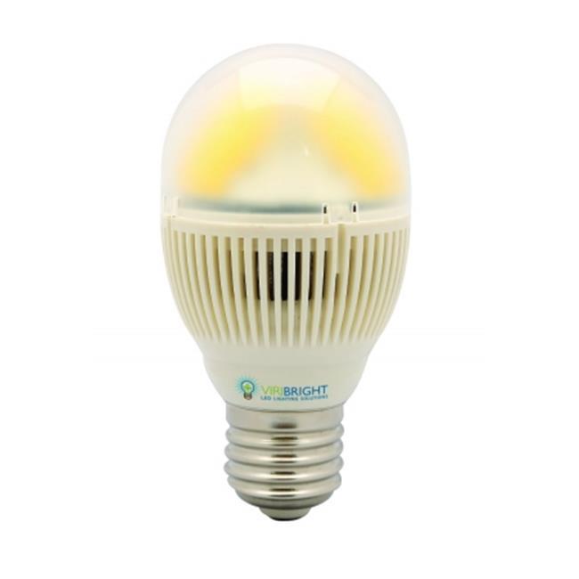Viribright Lighting Inc.  73735 LED 5W Mini A19, E26 Base, 120V AC, Daylight 6000K, 450Lm, 80 CRI, 270-Degree Beam Angle,