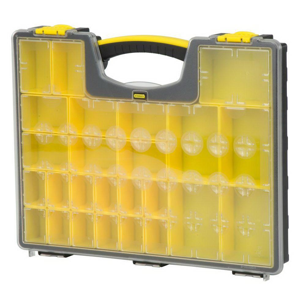 STANLEY Shallow Organizer Professional, 25 Compartments, 014725R by Stanley Tools