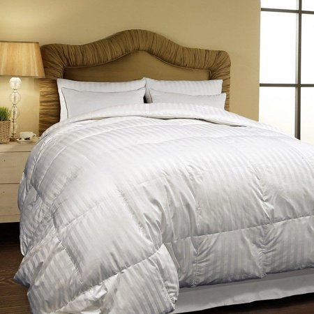 Hotel Grand  500 Thread Count Oversized All-season White Siberian Down Comforter (Oversized Ca King Down Comforter)