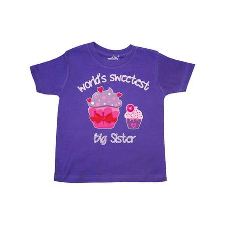 - World's Sweetest Big Sister Toddler T-Shirt