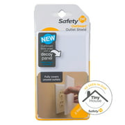 Safety 1st OutSmart Easy-Install Outlet Shield, White
