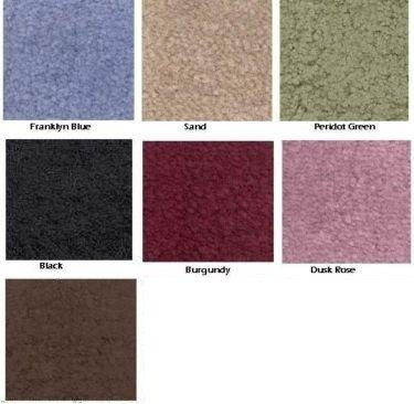 REFLECTIONS WALL TO WALL BATHROOM CARPET, CUT TO FIT, 5' X 8' BROWN