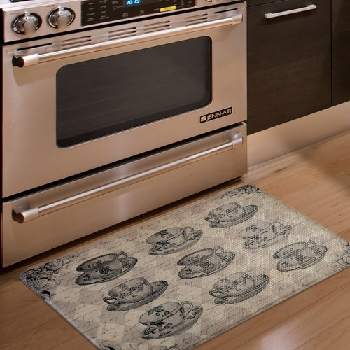 anti fatigue kitchen mats. Home Fashion Designs Bennett Printed Anti-Fatigue Kitchen Mat Anti Fatigue Mats T