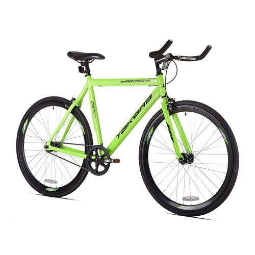 Takara Renzo Green 700c Mens Fixie Bike