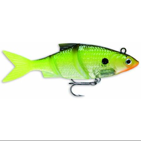 Storm live kickin 39 shad 05 fishing lure chartreuse shad for Chartreuse fishing lures