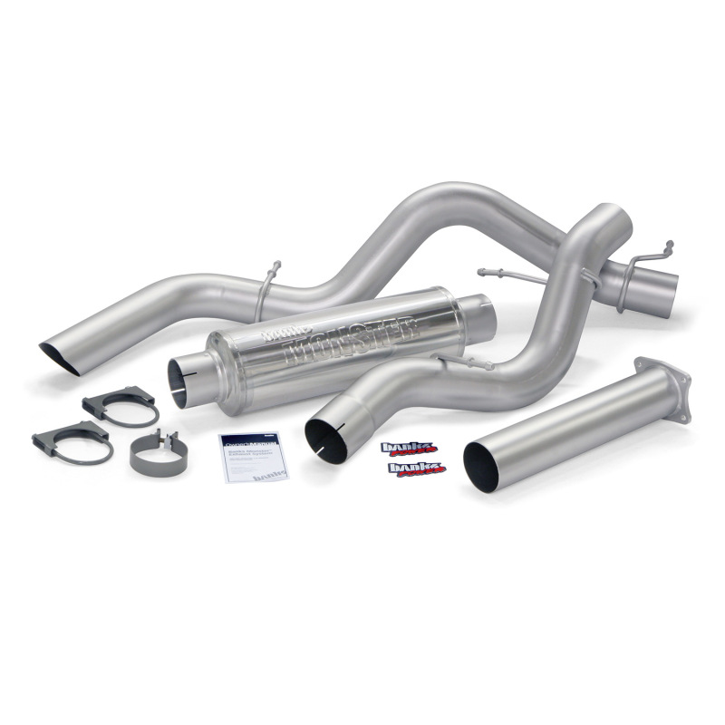 Banks Power 01-05 Chev 6.6L Ec/CCSB Monster Sport Exhaust System