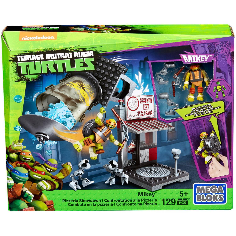 Mega Bloks Teenage Mutant Ninja Turtles Mikey Pizzeria Showdown by Mega Bloks