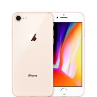 Apple iPhone 8 Fully Unlocked 64gb Gold (Certified Refurbished, Good Condition)