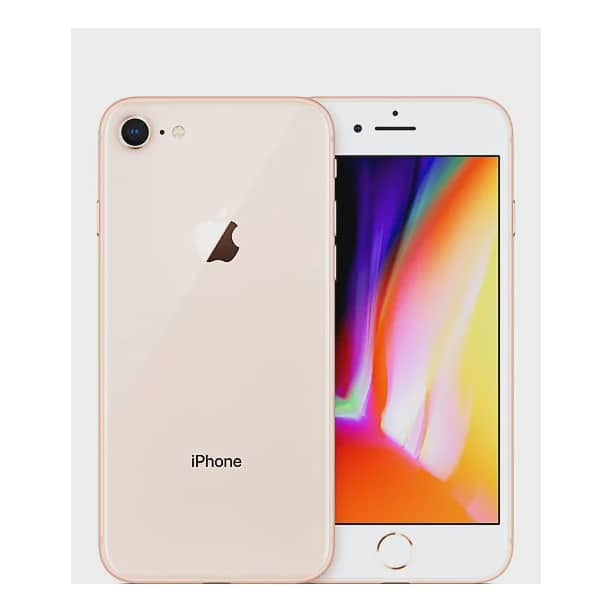 Apple Iphone 8 Gsm Unlocked 64gb Gold Certified Refurbished Good Condition Walmart Com Walmart Com