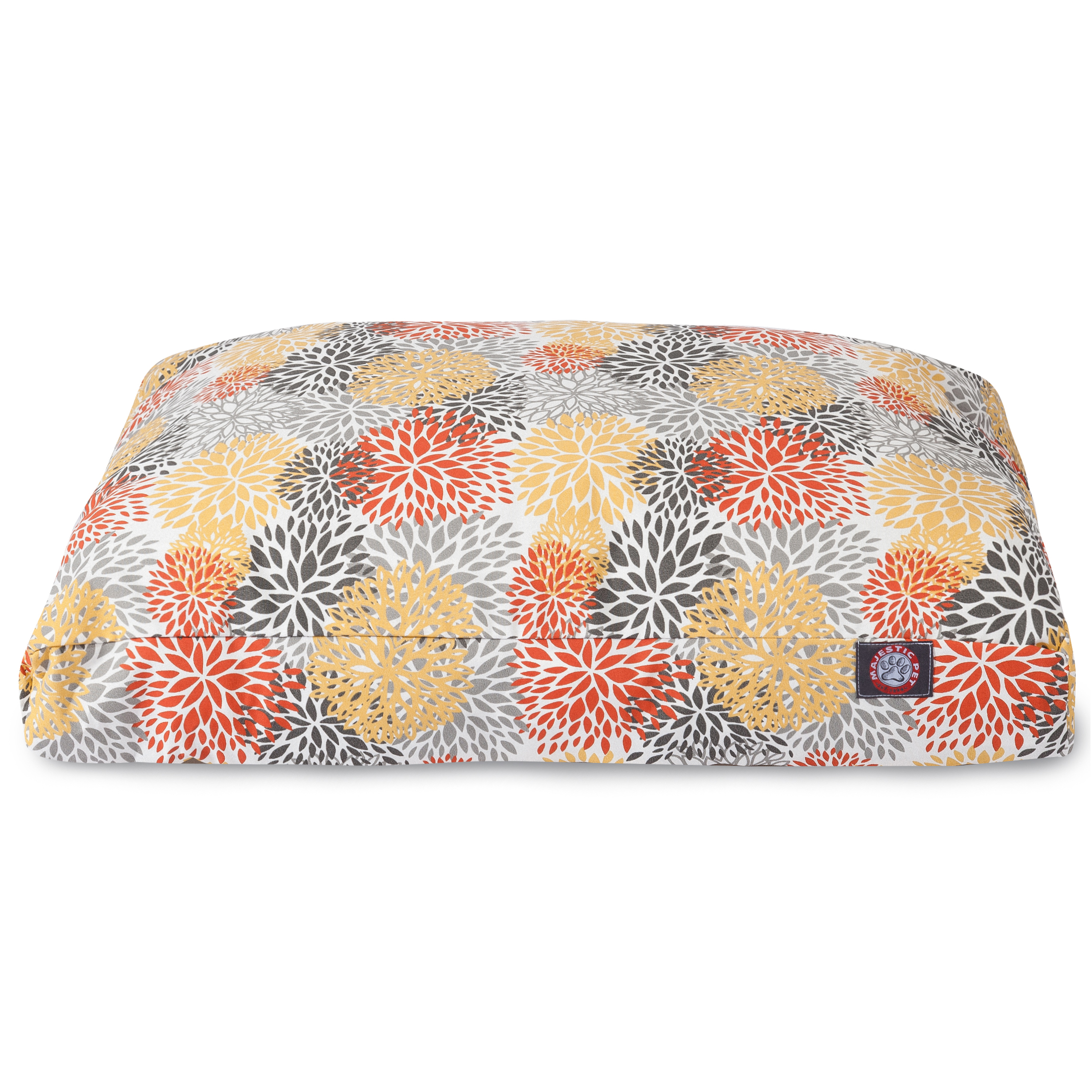 Majestic Pet Blooms Rectangle Dog Bed