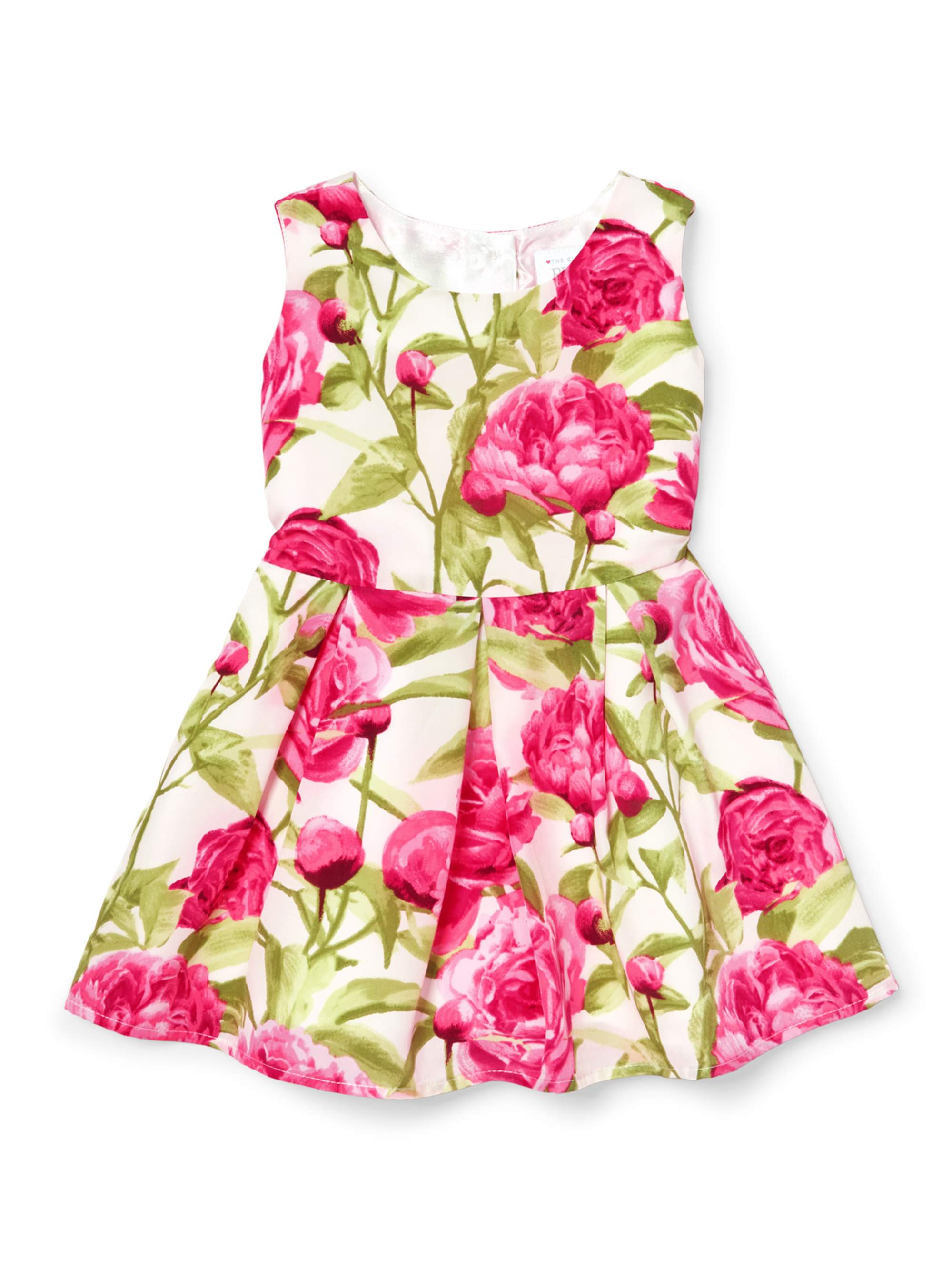 Floral Crepe Dress (Baby Girls & Toddler Girls)