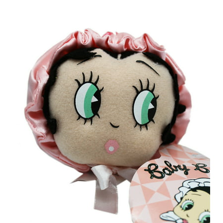 Betty Boop Plush Head With Bonnet (3in) Betty Boop Bad Dog